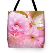 Pink Tree Blossoms Art Prints Spring Blossoms Baslee Troutman Tote Bag