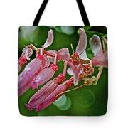 Pink Tropical Flower In Huntington Botanical Garden In San Marino-california Tote Bag