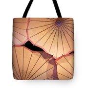 Pink Umbrellas Tote Bag