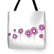 Pink Up Tote Bag