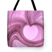 Pink Valentine Tote Bag