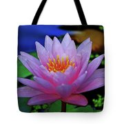 Pink Water Lily 007 Tote Bag