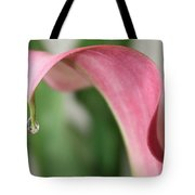 Pink Wave Tote Bag