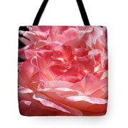 Pink White Roses Floral Art Prints Rose Baslee Troutman Tote Bag