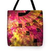 Pink Windows Tote Bag