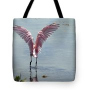 Pink Wings Tote Bag
