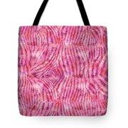 Pink Zebra Print Tote Bag