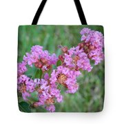 Pinkish Red Flower Bloom Close Up Tote Bag