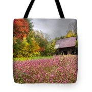 Pinks In The Pasture Tote Bag