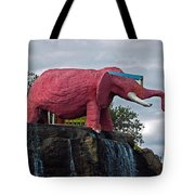 Pinky The Elephant At Cape Canaveral Tote Bag