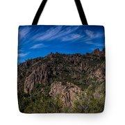 Pinnacles View Tote Bag