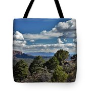 Pinon Forest At The Top Of Kolob Canyon Tote Bag
