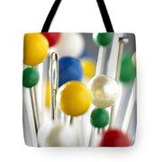 Pins And Needle Tote Bag