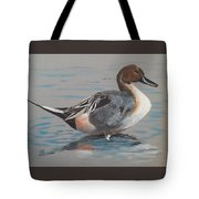 Pintail Tote Bag by Jean Ann Curry Hess