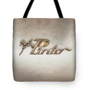 Pinto Car Badge Tote Bag
