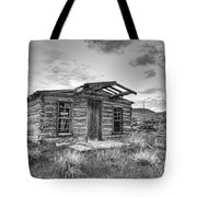 Pioneer Home - Nevada City Ghost Town Tote Bag