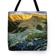 Pioneer Mountains Tote Bag