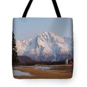 Pioneer Peak Alaska Tote Bag