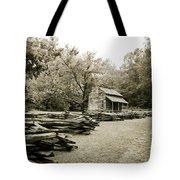 Pioneers Cabin Tote Bag