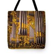 Pipe Organ Detail Tote Bag