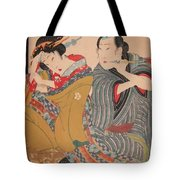 Pipe Smokers 1835 Tote Bag