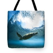 Pipe Turtle Glide Tote Bag