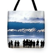 Pipeline Shadowland - 1 Of 3 Tote Bag