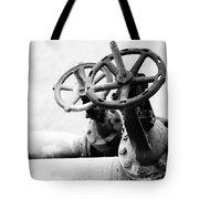Pipeline Valves Tote Bag by Gaspar Avila