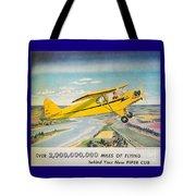 Piper Airplane  Tote Bag