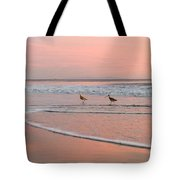 Pipers In Pink Tote Bag