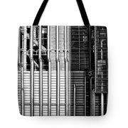 Pipes And Metal - Leeds Tote Bag