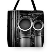 Pipes Tote Bag