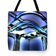 Pipes In Third Dimension Tote Bag