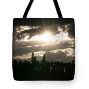 Piprell Lake Saskatchewan Tote Bag