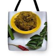 Pirandai Thuvaiyal Recipe Tote Bag