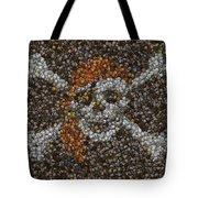 Pirate Coins Mosaic Tote Bag