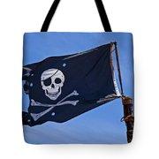 Pirate Flag Skull And Cross Bones Tote Bag