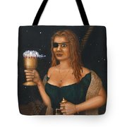 Pirate Queen Tote Bag by Roz Eve