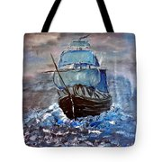 Pirate Ship 1 Tote Bag