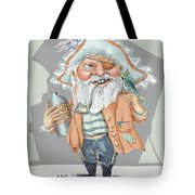 Pirate With Rum Tote Bag