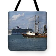 Pirate's Pride In Port Canaveral Tote Bag