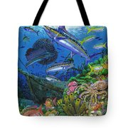 Pirates Reef Tote Bag