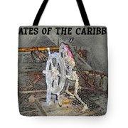 Pirates Skeleton Tote Bag by David Lee Thompson
