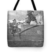 Pirates: Walking The Plank Tote Bag by Granger
