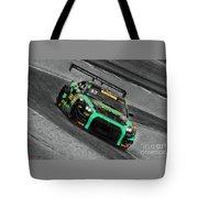 Pirelli World Challenge Jd Davison Nissan Gt R Gt3 Tote Bag