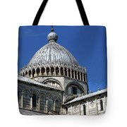 Pisa Cathedral Dome Tote Bag