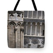 Pisa Leaning Tower 4637 Tote Bag