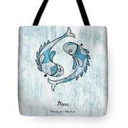 Pisces Artwork Tote Bag