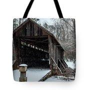 Pisgah Covered Bridge - Modern Tote Bag