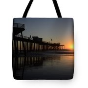 Pismo Beach Pier California 4 Tote Bag